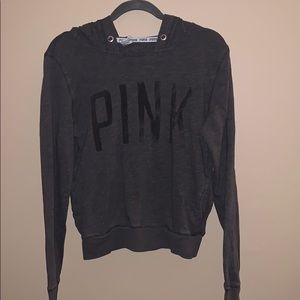 Victoria's Secret PINK size small grey sweater